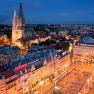 Zagreb, the seigneurial capital of Croatia and a European wonder